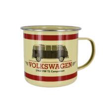 VW camper zománc bögre