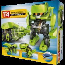 T4 transformer napelemes robot építő szett