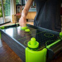 Neon asztali léghoki játék