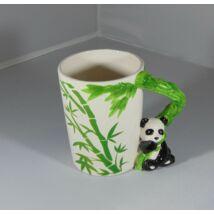 Panda fülű bögre