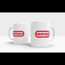Nintendo logós bögre