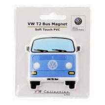 VW T2 BUSZ GUMI MÁGNES - KÉK