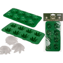 Cannabis levelek jégkocka készítő