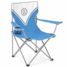 VW T1 mintás kemping szék - kék/fehér