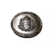 övcsat, magyaros, címer magyar címer, koszorú, öv, ruházati kiegészítő