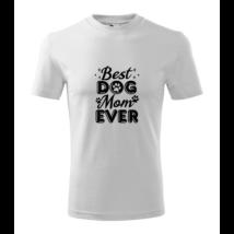 lifetrend.hu, póló, best dog mom, dog lover