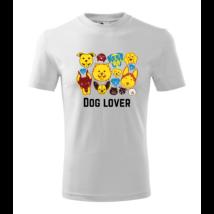 Dog Lover mintás póló