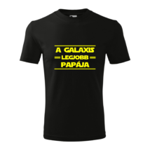 lifetrend.hu, póló, apák napja, father's day, legjobb papa, papa, nagypapa, szuper, star wars, galaxis
