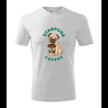 Starpugs Coffee feliratos póló