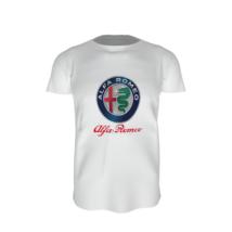 Alfa Romeo póló – fehér