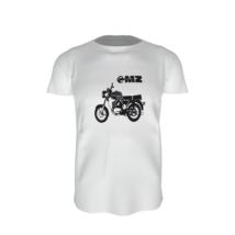 MZ motor póló – fehér