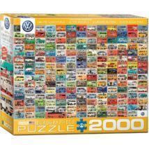 Volkswagen Transporter Generációk 2000 db-os kirakó