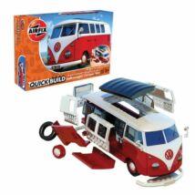 Airfix Volkswagen Campervan építőkészlet - piros