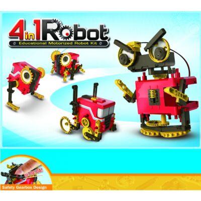 robot; transformer; játék; gyerek; ajándék; zöld; környezetbarát; építős; sóval; tanulás; motoros; elemes;