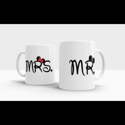 lifetrend.hu, bögre, páros bögre, pároknak, Mr, Mrs, Mickey, Minnie, Disney