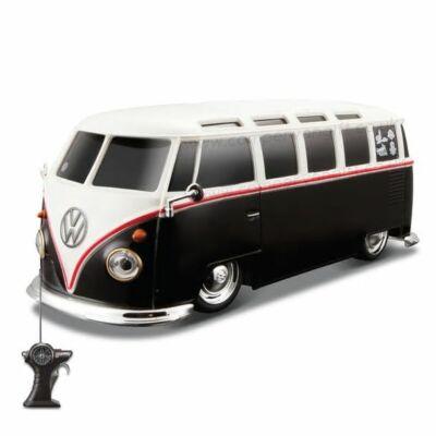 ajándék; Volkswagen, Maisto távirányítós VW Volkswagen Samba;  lifetrend.hu; VW, távirányítós autó