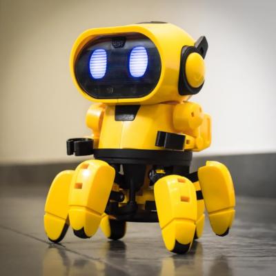 robot; önjáró; játék; gyerek; ajándék; környezetbarát; építős; sóval; tanulás; motoros; elemes; robotika; programozás;